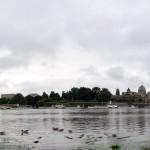 Elbehochwasser-Pano