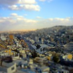 Jordanische Miniaturstadt