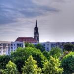 Bildnummer: 00026 - Blick zur Dreikönigskirche (Dresden)