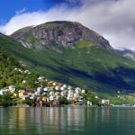 Bildnummer: 00050 - Fjordstädtchen (Panorama 7266x5175)