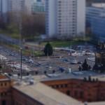 Blick zur Grunaer Straße