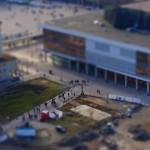 Blick zum Kulturpalast