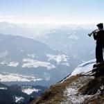 Musiker beschallen das Tal