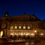 Limousine vor Semperoper