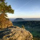 Sonnenaufgang auf dem Pfaffenstein