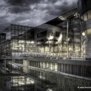VW Manufaktur in Dresden nach einer Interpretation von DDpix